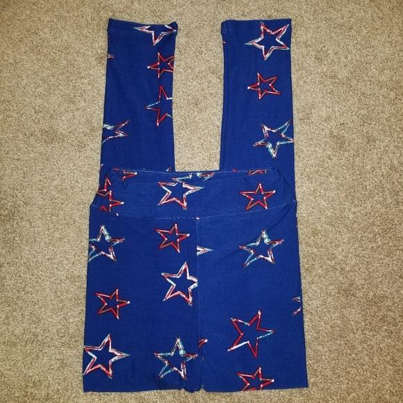 LuLaRoe Other - Lularoe Patriotic leggings